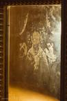 Отобразившийся на стекле образ Святителя Николая Чудотворца
