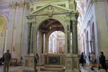 Храм Алексея человека Божия. Мощи вмч. Вонифатия