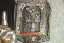 губку, наполнил уксусом и, наложив на трость, давал Ему пить;(матф.27;49)г. Бари храм св. Николая