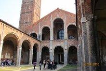 Церковь св. Амвросия Медиоланского. г. Милан