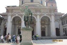 Памятник св. Константину Великому. Храм святаго Лаврентия. Милан.