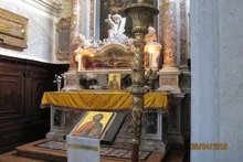 Мощи св. Иоанна Милостивого.Венеция. Церковь св. Иоанна ин Брагор
