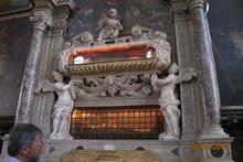 Мощи св. Захария отца св. Иоанна Предтечи и св. Афанасия Великого. Венеция. Храм св. Захария