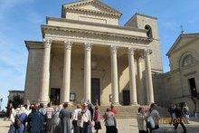 Храм святаго Марина. Республика Сан Марино