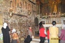 Домик Святого Семейства, привезенный из Назарета. г. Лорето