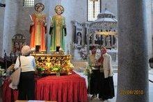 Мощи святых Космы и Дамиана