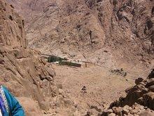 Монастырь вмч. Екатерины у подножья горы Синай