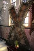 Крест Андрея Первозванного на месте его казни