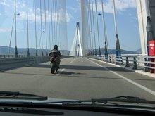 Мост через пролив в г. Патры