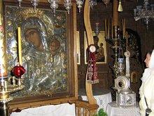 Икона Отрада и Утешение. И мощи прп. Никодима Святогорца