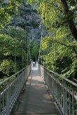 Мост к Пещерному храму св. прпмц. Параскевы Римской в Темпи