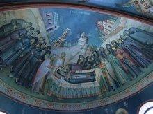 Роспись в храме св. Нектария Эгинского