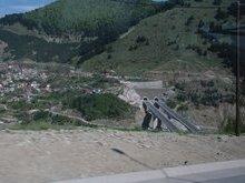 Дорога от монастырей Метиоры в направлении к о. Корфу, к мощам св. Спиридона Тримифунтского