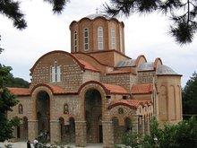 Монастырь Панагия Сумела в Вермио в горах