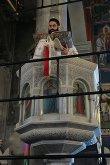 О. Эвбея. Храм св. Иоанна Русского исп. Литургия. Чтение Евангелия