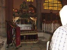 Салоники. Храм вмч. Димитрия Солунского. Мощи св.мц. Анисии