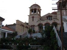 Монастырь Малеви полуостров Пелопонне́с