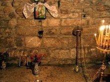 Место где родилась Пресвятая Богородица. Иерусалим.