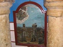 Икона в Храме на поле пастухов где им ангелы сообщили о Рождестве Христовом
