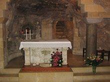 Дом в г. Назарете где проживал Господь Иисус Христос, Пресвятая Богородица и Иосиф обручник.