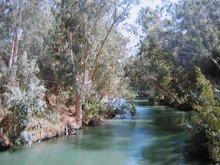 Река Иордан. Место крещения.