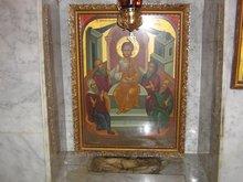 Место, на котором находился 12-ти летний Господь, беседуя с учителями в храме.