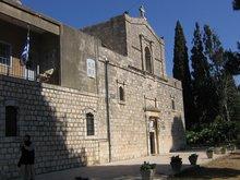 Монастырь на горе Фавор.