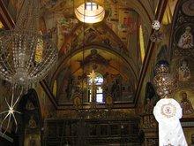 Преображенский храм на горе Фавор.