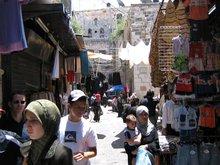 Иерусалим на пути к Храму Гроба Господня.