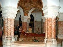 Горница в которой произошло Успение Пресвятой Богородицы.