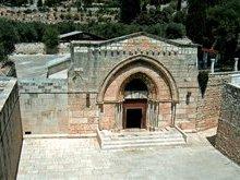 Храм на месте где была погребена Пресвятая Богородица.