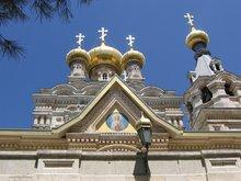 Монастырь Марии Магдалины. На Елеонской горе.