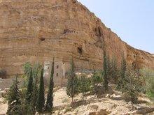 Монастырь прп. Георгия Хозевита. Пещеры отшельников.