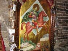 Св. Димитрий защитил от бомбардировки храм и христиан.