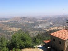 Вид из монастыря.