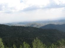 Обычный пейзаж на Кипре.