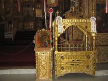 Честная глава святого Лазаря.