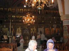 Храм святого Киприана в деревне Менико.