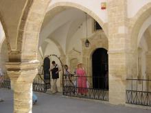 Храм монастыря Честного Животворящего Креста (IV в.) в деревне Омодос.