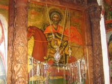 Чудотворная икона св. Мины Котуанского.