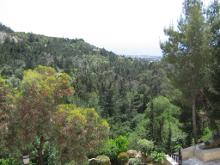 Вид из монастыря святого преподобного Неофита Затворника.