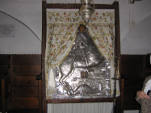 Храмовая икона великомученика Георгия Победоносца.