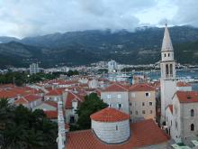 Общий вид старого города с высоты.