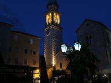 Морской маяк на колокольне церкви Святого Иоанна.